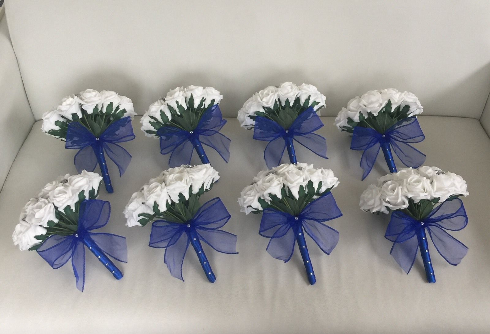 Royal Blue And Silver Bouquet 60 Off Tajpalace Net